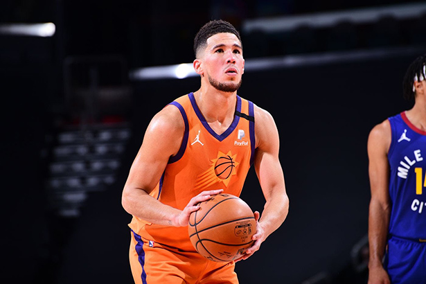 NBA All-Star Game 2021: Devin Booker de los Suns es designado como sustituto de Anthony Davis de los Lakers