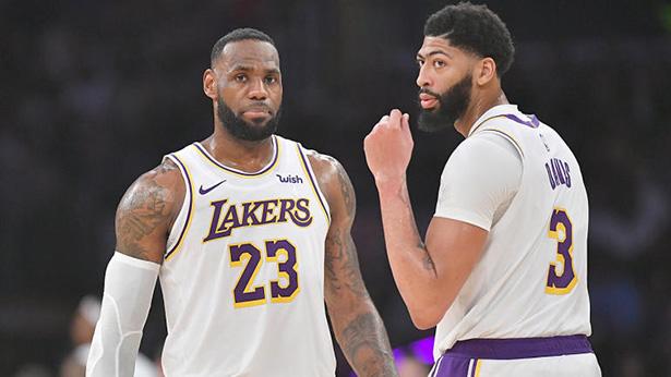 Los Lakers aún permanecen en el Oeste sin LeBron James y Anthony Davis